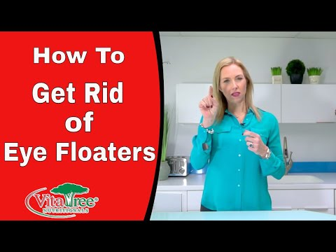 How To Get Rid of Eye Floaters Treatment Naturally -VitaLife Show Episode 223