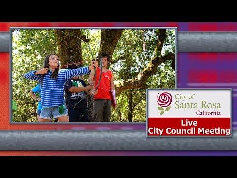 City of Santa Rosa Council Meeting May 16, 2018