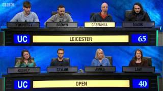 Download University Challenge S44E09 Leicester vs Open University Video
