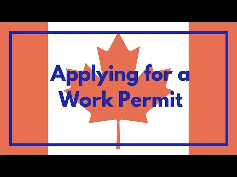 Applying for a Work Permit With a Canadian Job Offer