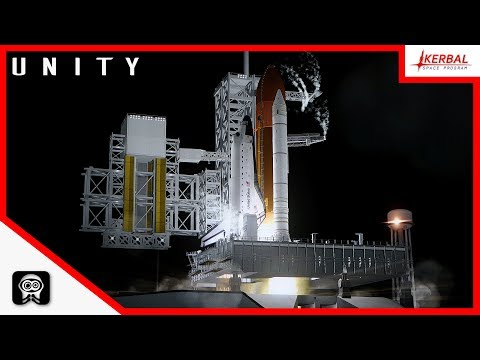 E02 - Kerbal Space Program | ISS Build | Unity