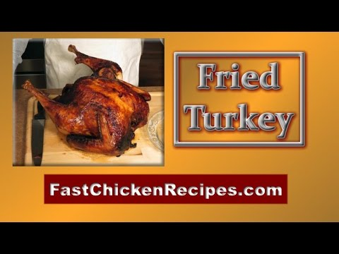 Deep Fried Turkey Thanksgiving Special