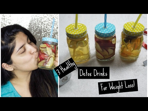 3 Healthy & Natural Detox Water For Weight Loss and Healthy Body | Fitness Friday