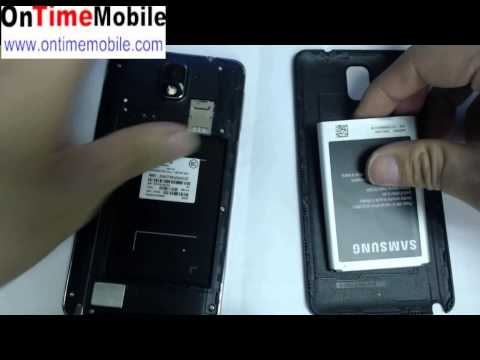 Samsung Note 3 N900a N900t unlock instruction