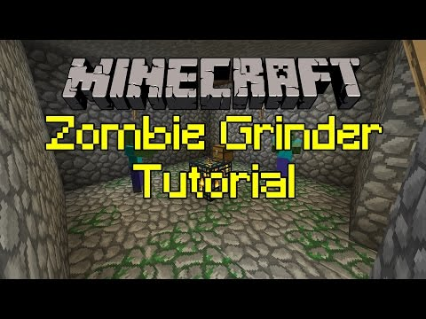 Minecraft Tutorial: 1.11.2 How to Make a Basic XP Farm!
