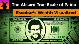 The Absurd True Scale Of Pablo Escobar S Wealth Visualized