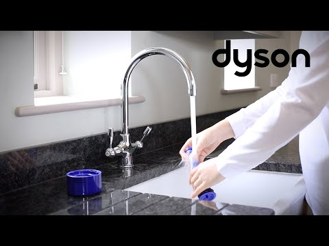 Dyson V8 cord-free vacuums - Washing the filters (UK)