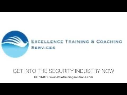 SIA LICENCE SECURITY TRAINING VIDEO  -  SPECIAL OFFER!!!