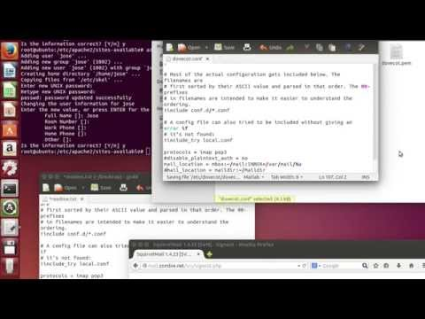 How to install and configure mail server in Ubuntu