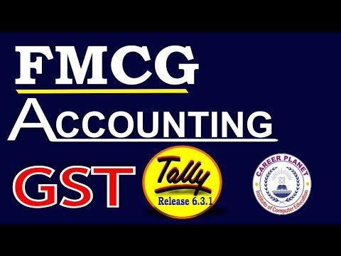 Tally ERP 9-FMCG Retail Store Accounting with GST in Tally Part- 77|Learn Tally Accounting