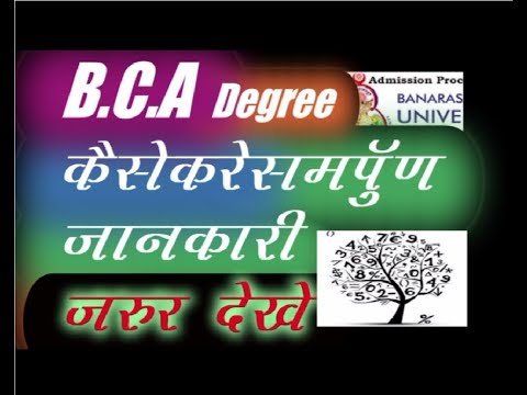 Bachelor Degree in Computer Application, BCA kaise bane,After 12th Careers, CREATE YOUR IDENTITY,