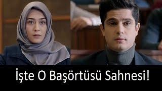 BİZİM HİKAYE FİLMİ Çok Konuşulan Başörtüsü Sahnesi!!! (Başrol Haluk Piyes)