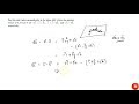 JEE MAINS 2018 Find the unit vector perpendicular to the plane    ABC where the position vectors...