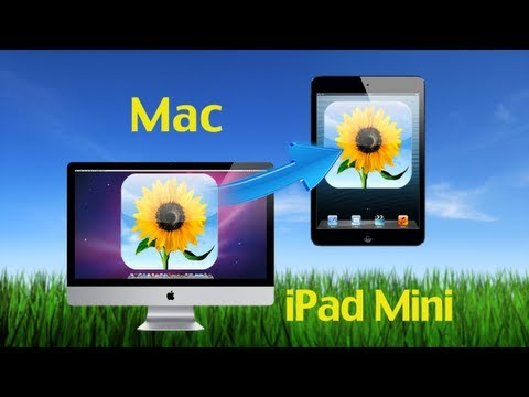 Mac iPad Mini Transfer: How to Transfer Photos & Pictures to iPad Mini on Mac by MobileGo for iOS