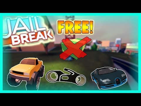 HOW TO GET ALL VEHICLES FOR FREE IN JAILBREAK! (ROBLOX)