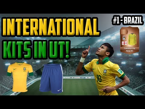 FIFA 14 Next Gen | International Kits In Ultimate Team | #1 - How To Get The Brazilan Jersey In FUT!