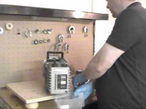 How to Change Vacuum Pump Oil