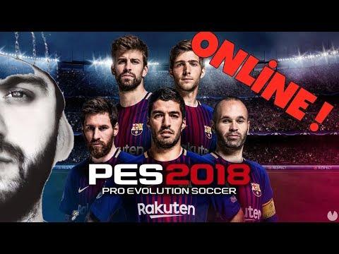 PES 2018 : Türkçe Online Multiplayer Çekişmeli Maç - Rakip Efsane Kadro !