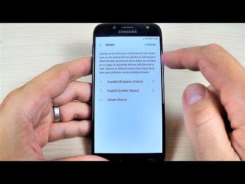 Samsung Galaxy J3, J5, J7 (2017) - How to Change the Language