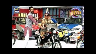 Mein Apni Bike Khud Chalaongi - Jeeto pakistan