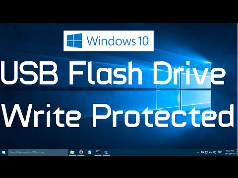 How to fix USB Flash Drive Write Protected in Windows 10 (Quick Fix)