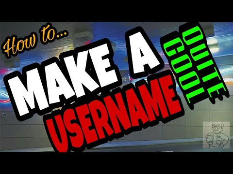 11 Ways HOW TO make a COOL USERNAME!  | Memer tips from Calculus Daddy