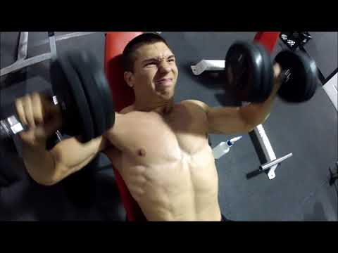 Chest Training with a good friend of mine!