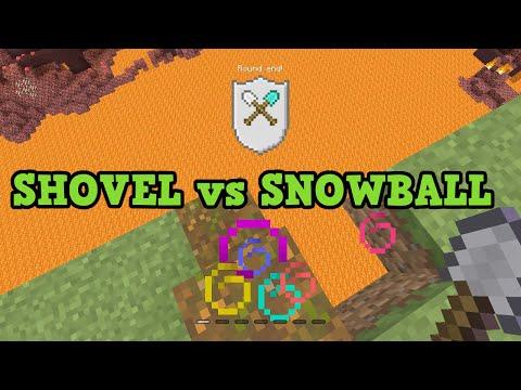 Minecraft TU41 Tumble MiniGame Shovel vs Snowball TUTORIAL