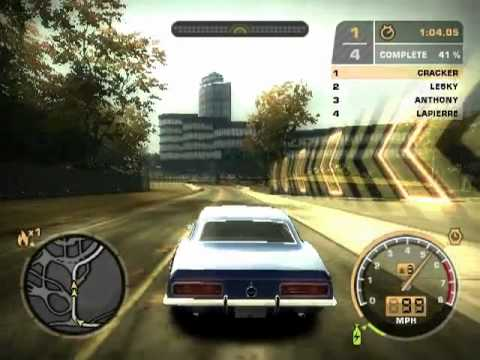CAMARO SS in NFSMW bonus cars fantastic racer car