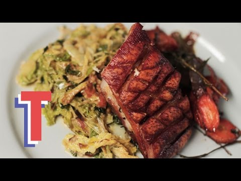 Crispy Pork Belly With Leeks & Pancetta | Feed My Friends 2