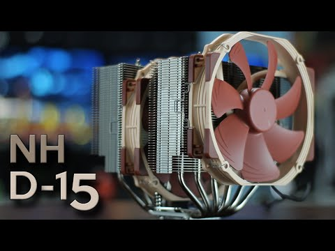 NOCTUA NH-D15 Review - The BIGGEST and BADDEST CPU Air Cooler there is!