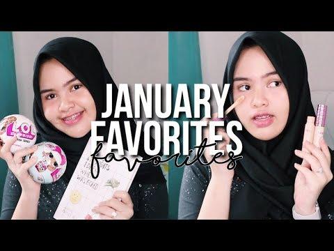 January favorites 2018! | Cantika Putri