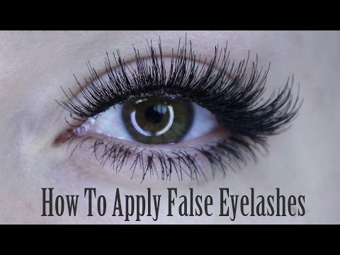 How To Apply of False Eyelashes (Strip Lash, Individuals & Bottom Set) | Shonagh Scott