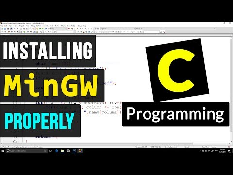 MinGW Compiler Suite Installation for C / C++ Programming ( Windows )