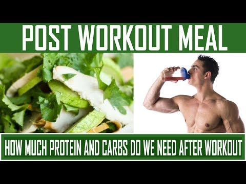 What To Eat After Gym Workout | Best Post Workout Meal For Muscle Gain - Hindi Video