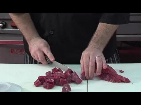 How to Cut Stew Meat : Cooking Meat