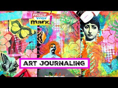 Easy Art Journal Techniques