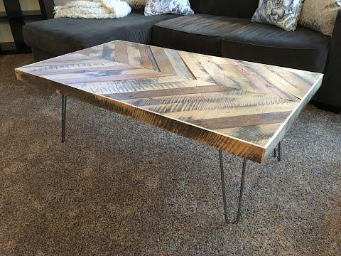 Chevron Coffee Table - Kraftmade