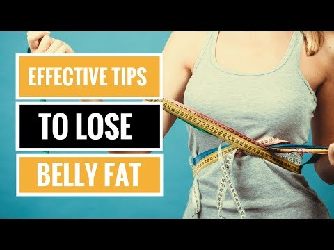6 Effective Tips to Lose Belly Fat (Backed by Science)