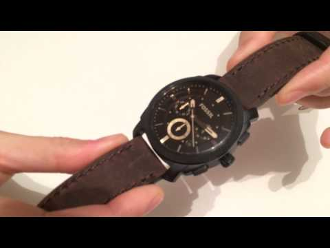 Ceas Fossil FS4656 Review / Fossil Machine Mid Size - Unboxing