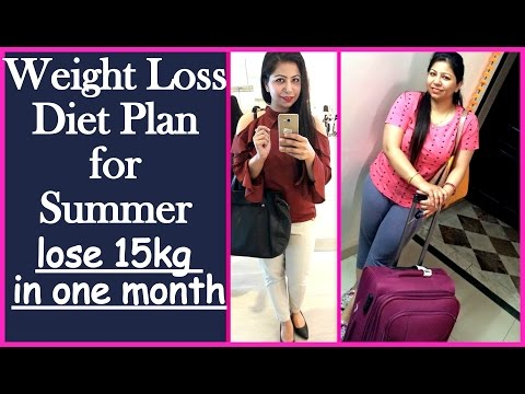 Full Day Weight Loss Diet/Meal Plan for Summer to Lose 15 kg | Summer Weight Loss Diet Plan/Chart