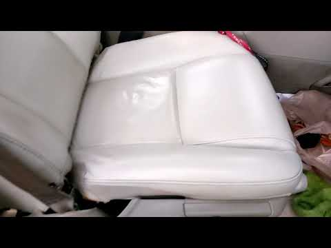 Clean, dye, recondition leather seats