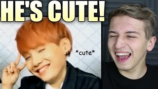 Download When SUGA Forgot His SWAG Reaction | BTS Video