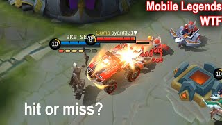WTF Funny Moments Almost Die | Mobile Legends WTF
