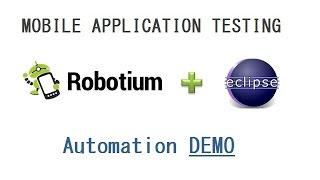 Robotium Test Android Webview (Hybrid application) Testing