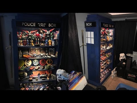 Dr Who Tardis Display Shelf Build