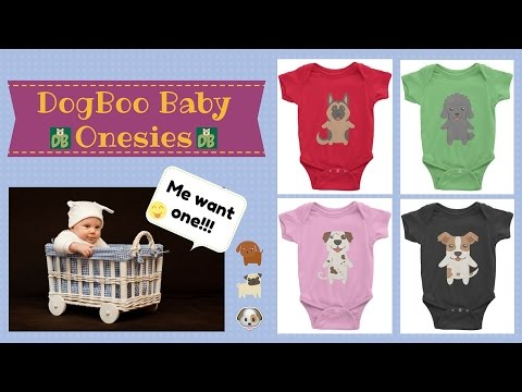 DogBoo Baby Onesies by Dog Breed