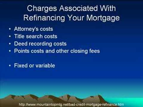 A Bad Credit Home Mortgage Refinance Loan Can Help Your Family