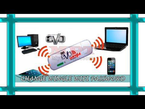 Change PTCL Evo Wingle Wifi Password  Learn Howto 