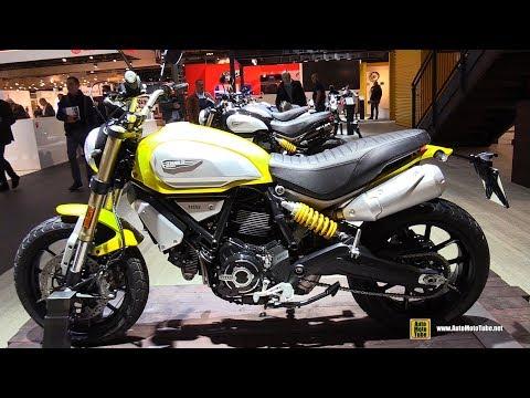 2018 Ducati Scrambler 1100 - Walkaround - 2017 EICMA Motorcycle Exhibition